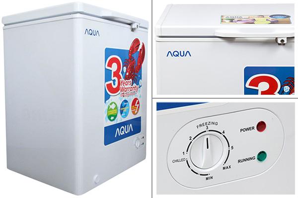 Tủ đông mini trữ sữa mẹ Aqua AQF-C210 (100L)