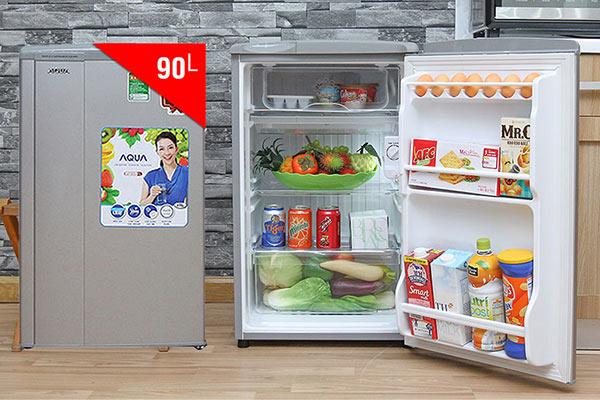 Tủ lạnh dưới 5 triệu đáng mua nhất 2018 - Aqua 90L