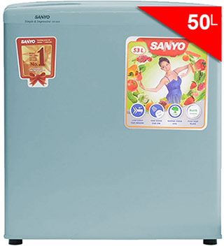 Tủ lạnh giá rẻ dưới 3 triệu Sanyo mini 50 Lít