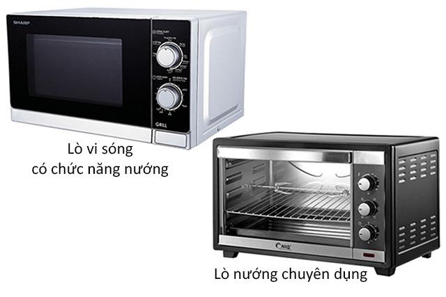 so-sanh-lo-nuong-va-lo-vi-song-co-nuong-khac-nhau-nhu-the-nao-